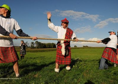 Pfizer - Highland games