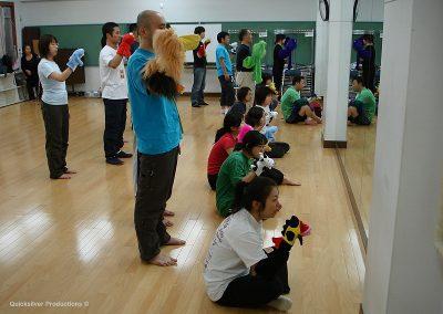 2007 Japan  - Tokyo - Puppet Workshop