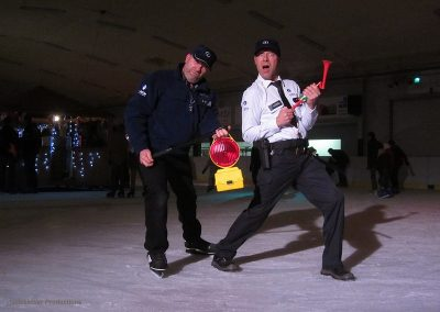 Police on Ice - Montea
