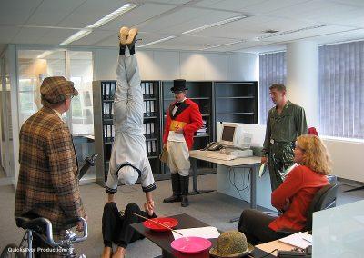 PWC - Circus at the office