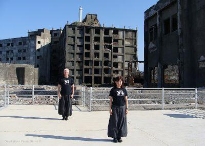 2009 Japan - Gunkan Jima - Banzai Twins