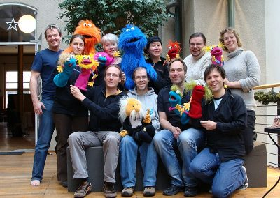 2010 Germany - Halle - Puppet workshop