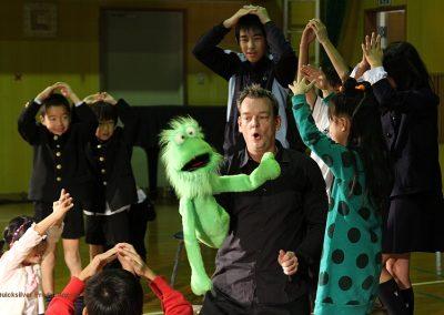 2010 Japan - Kashima - School show