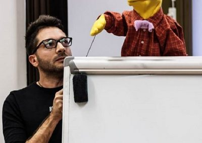 2015 Italy -Bologna - Workshop Puppets