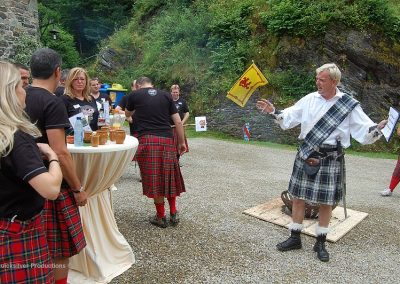 Trendy food - Highland games - Team Building