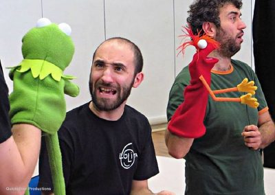 2015  Italy - Bologna - Puppet workshops