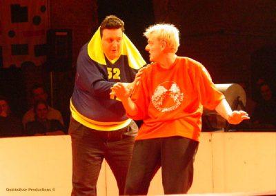 2002 Antwerpen - Internationale voorstelling België - Italië