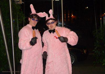 Antwerp dinner - Security rabbits