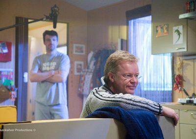 Paul en Saskia - De regisseur op de set