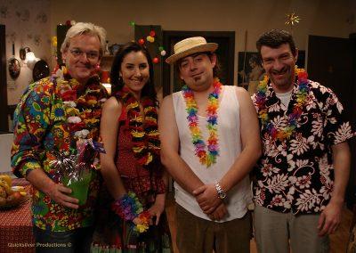 Paul en Saskia - Hawai feestje